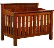 New Chelsea Home Furniture Stratford Crib in Cherry 354-301