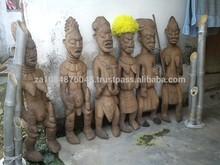 Nghu traditional god heads