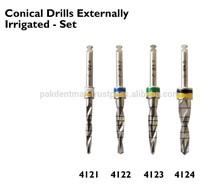 4 Conical Drills Externally Irrigated Dental Implants / Dental Implants / Dental Surgical Implants