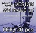Prendas de vestir de fábrica- we producir su creación con baja moq- singular