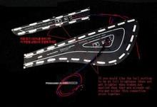 Panel Lighting Rear LED Brake Modules DIY Kit (1533L2 Power LED) for 2013-2015 Hyundai The New Avante MD / Elantra MD