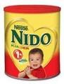 Lait en poudre pour bébés aptamil-, nutrilon. Sma, nido