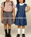 ccustom deisgned uniforme da escola primária para a escola com o uniforme da escola saias