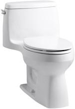 KH K-3810-0 Santa Rosa 1-Piece Compact Elongated 1.28 gpf Toilet White