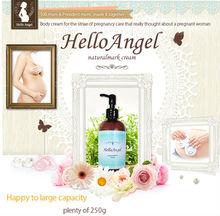 Uso de un fiable segura ingrediente para un bebé de la crema para el cuerpo que lleva cuidado de estrías gravídica