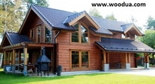 Premium ecological Log Homes - highest quality of architecture export@woodua.com
