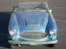 1963 Austin Healey 3000 Mk.2 BJ-7 Convertible with Complete Original Parts
