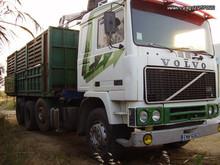Volvo F12 (truck with crane)