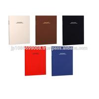 Simple colors self-adhesive sheet photo album materials