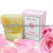 Whitening aroma soap DOLCE ROSE made in Japan for beauty skin