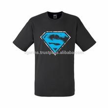 cool dark grey american super hero t shirts