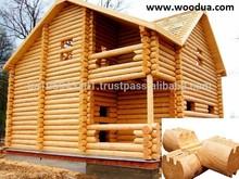 Good price Finland Prefabricated Log Houses from Ukraine export@woodua.com