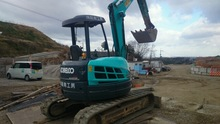Various types of second hand excavator in good condition