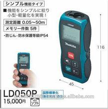 Compacto de distancia del laser instrumento de medición, Una función de sensor de inclinación