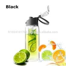 800mL Sport High Quality Tritan Plastic Fruit Juice Infuser Water Bottle
