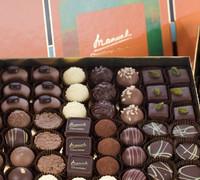 MANUEL - handmade chocolate from Swiss - QUADRO Chocolate original