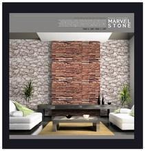 Korea Wallpaper / 2015 New Design Wallpaper / Natural brick Wallcoating