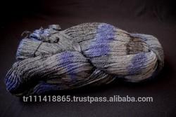 Acrylic spun fancy yarn for wholesale