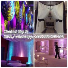 metal flower stands centerpieces, stage decoration backdrop design sample