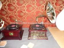 decorative gramaphone , old gramaphone ,mini gramophone , gramophone player ,gramophone radio , mini gramophone ,