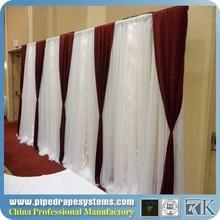 event used adjustable pipe drape