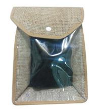 Jute Bag with PVC Window