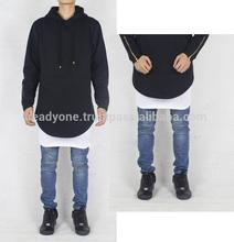 custom Hoodie/long Tall Hoodie/ Street wear hoodies Elongated hoodie