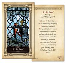 St. Richard Prayer Card - 25 Pack