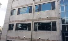 Aluminium horizontally sliding window