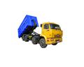 kamaz 65201 multilift de chatarra de metal del portador