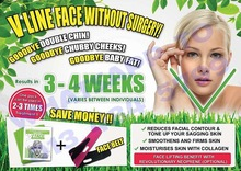 V shape face facial mask - Slimming your face without side effect