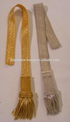 Sword knots for captains, lieutenant Bullion Wire Napoleonic sword knot for Uniforms