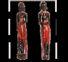 Small Masaai Sculptures- Standing