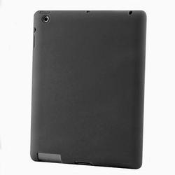 Black Color Silicon Case for New iPad 3