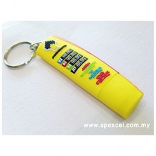 3D Soft PVC Keychain Pendrive CP-0110