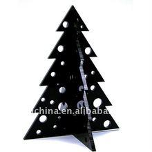 PE-414 Black Acrylic Xmas Tree Gift