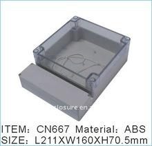 plastic enclosure CN666,plastic box,waterproof enclosure,enclosure