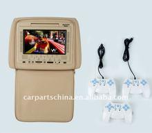 """7"""" Headrest Car DVD Player USB/ SD slot,FM, Game 20V7"""
