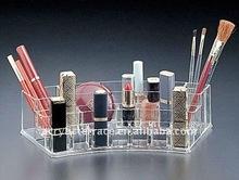 Fan Shape Acrylic Cosmtic Organizer/ Acrylic Makeup Displays