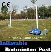 Description of Badminton(Inflatable 4.2m badminton net post )