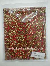 ss12 Siam color rhinestone 14.8 RMB/10gross