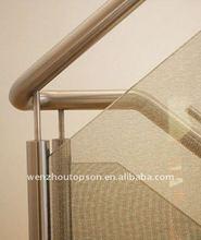 stainless steel stair handrail fittings