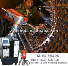 Tubo- tubo automática de la placa de pulso al arco de argón soldaduraimportante