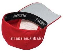 2012 new ~ custom plat brim baseball flex fit caps