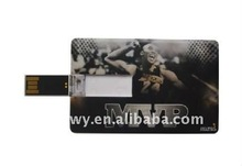 Basketball star shape Credit Card usb flash stick