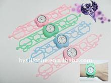 fashion silicone gift wristwatch silicone watch