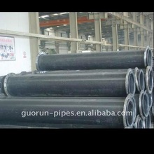 Black Industrial Plastic Polyethylene Pipeline