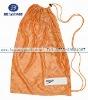 Customized orange mesh bags
