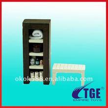 Fancy Mini Doll Cabinet and Desk
