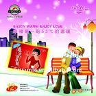 Sunle Romantic&Lavender warmer pad/hot pack/heat paste